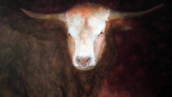Der Stier (detail)