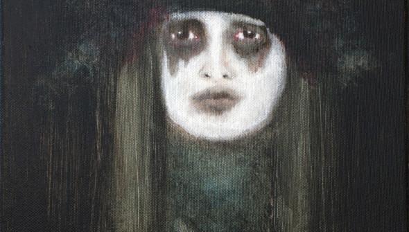 SENSE, 30×24 cm, oil and acrylic on canvas