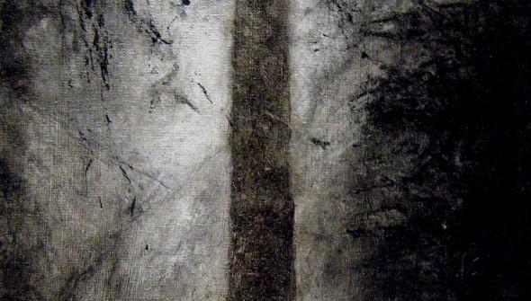 Baum#1, 24×18 cm, oil and acrylic on canvas, 2010