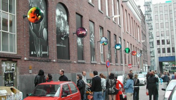 Lightbox Witte de withstraat Rotterdam, 2000