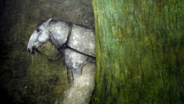 Das Pferd (detail)