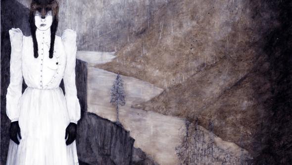 Der Fuchs (The Fox), 220x170 cm, oil and acrylic on canvas, 2011